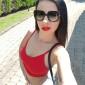 Dominika sexy Begleitmodel kommt in intimen Dessous zu diskreten Dates in Berlin City