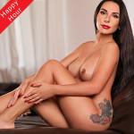 Flirt Model Justina über Kategorie Sie sucht Ihn für Küssen Service bei der Begleit Agentur Berlin
