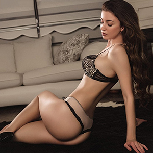 Fantastic Brunette Escort Ladie Theodora Having Sex With Man Man Woman At Hotel Berlin